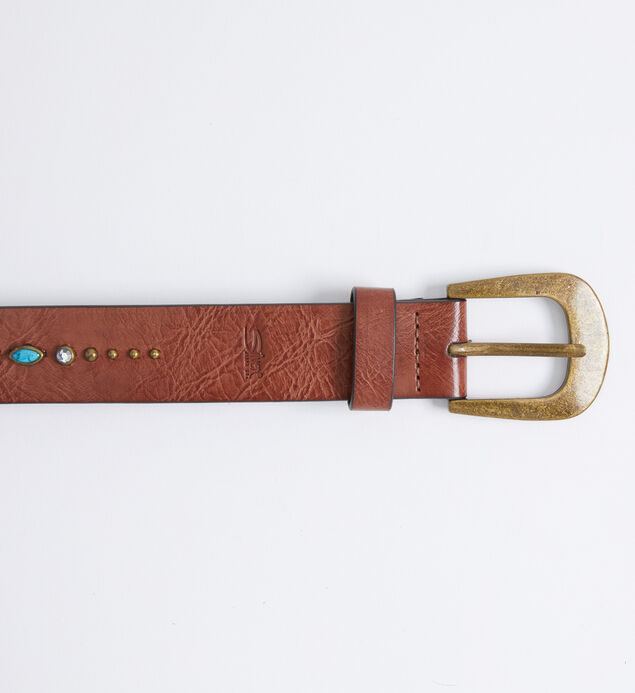 Turquoise Embellished Womens Belt