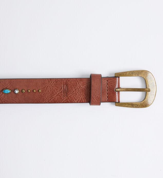 Turquoise Embellished Womens Belt