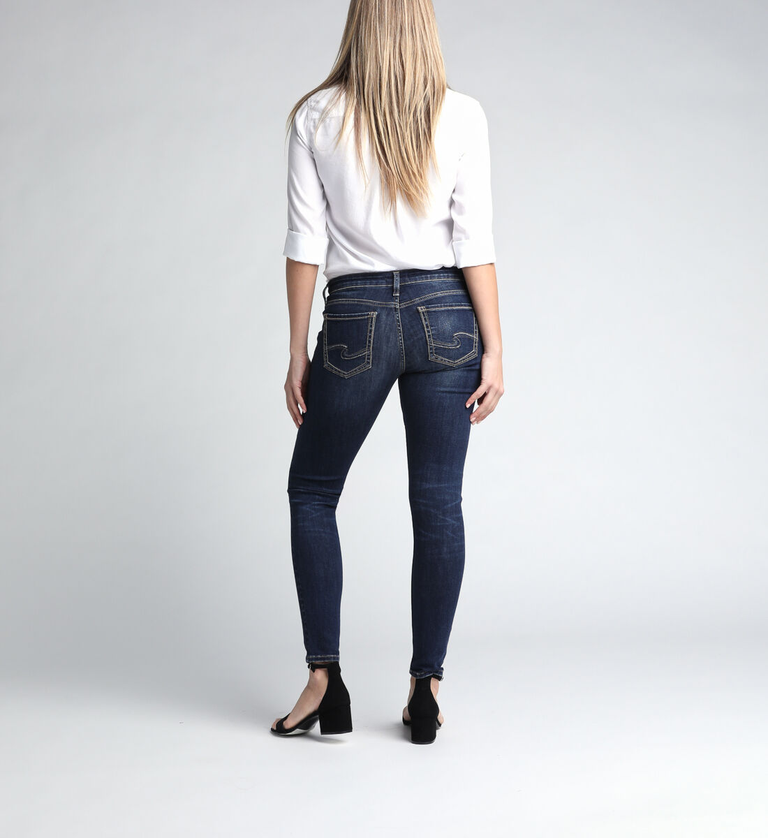 Tuesday Low Rise Skinny Leg Jeans Back