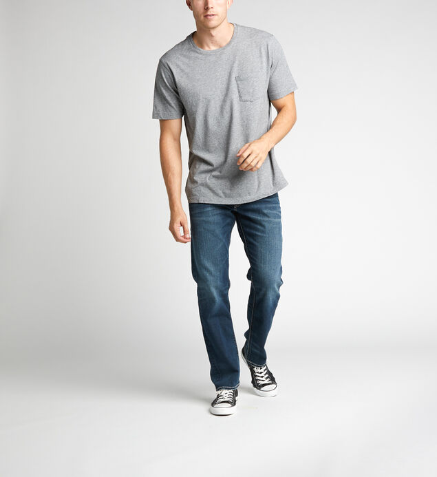Eddie Relaxed Fit Tapered Leg Jeans - Big & Tall