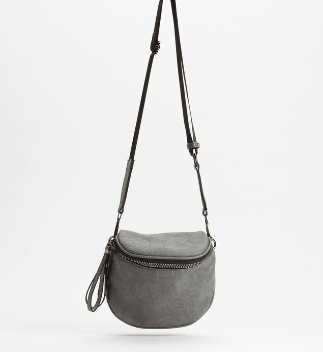 Zip Saddle Bag