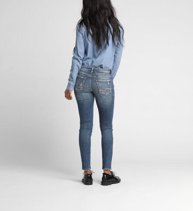 Aiko Mid Rise Skinny Leg Jeans, , hi-res