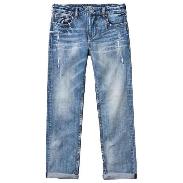 Straight Leg Fit Denim