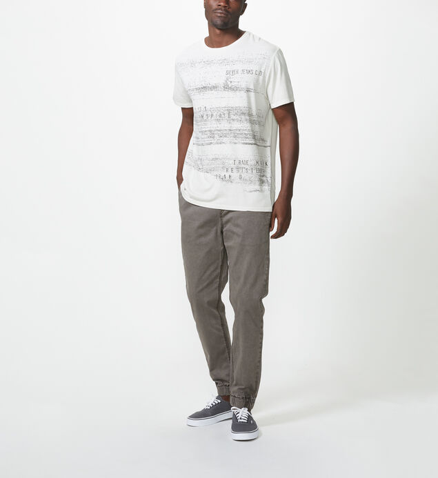 Randy Short-Sleeve Tee, White, hi-res