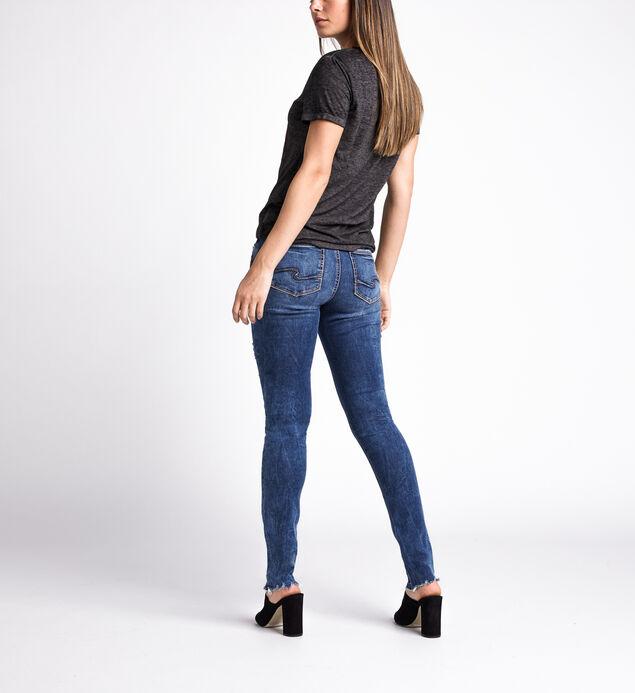 Elyse Mid Rise Skinny Leg Jeans, Indigo, hi-res