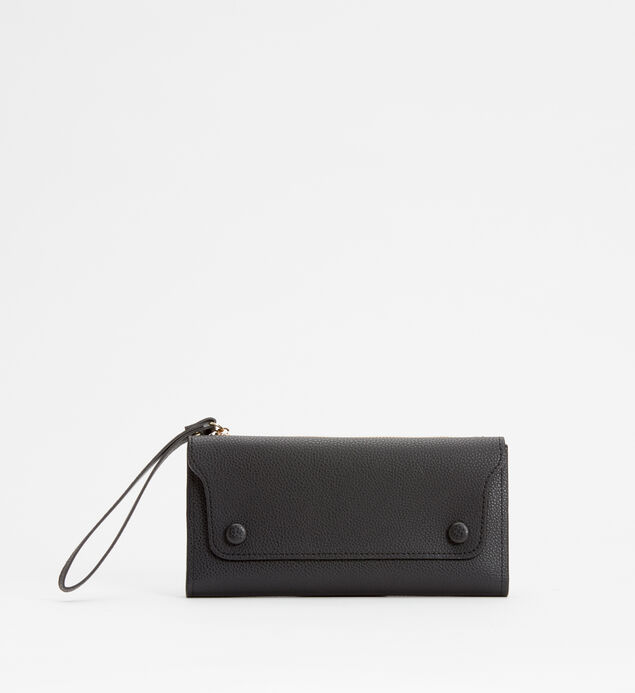 Medium Flap Wristlet Wallet