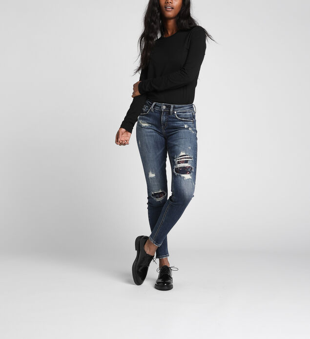Avery High-Rise Curvy Skinny Jeans