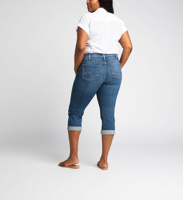 Suki Mid Rise Capri Plus Size, , hi-res