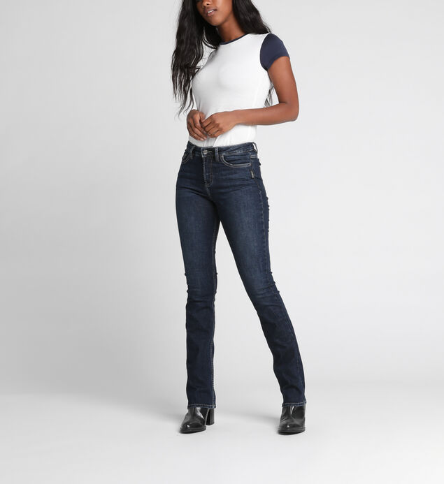 Mazy High-Rise Slim Bootcut Jeans
