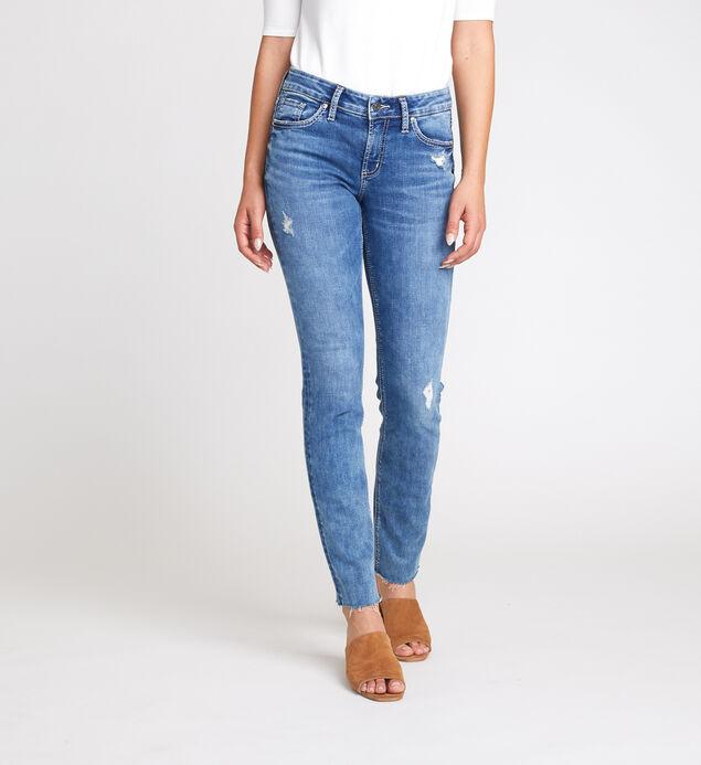 Elyse Mid Rise Slim Leg Jeans