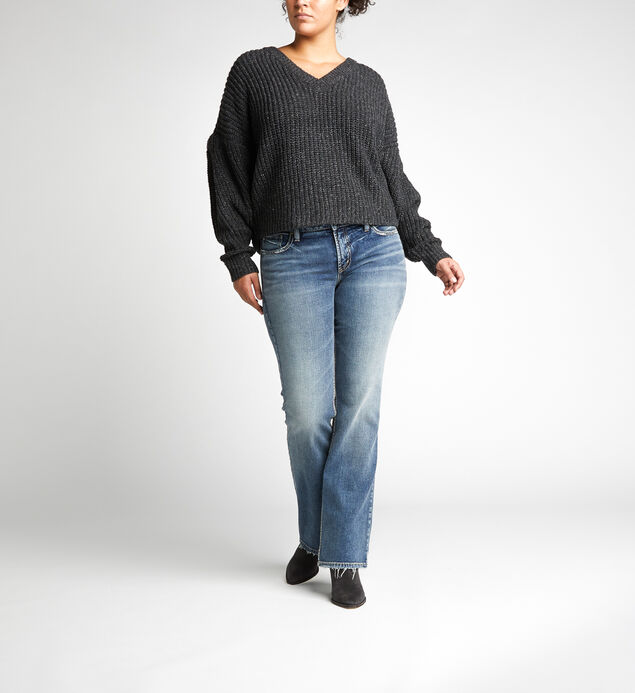 322f23e6d01fe ... Suki Mid Rise Bootcut Jeans Plus Size