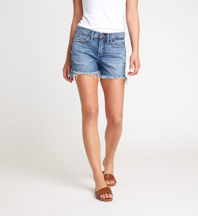 Not Your Boyfriends Short Mid Rise Shorts