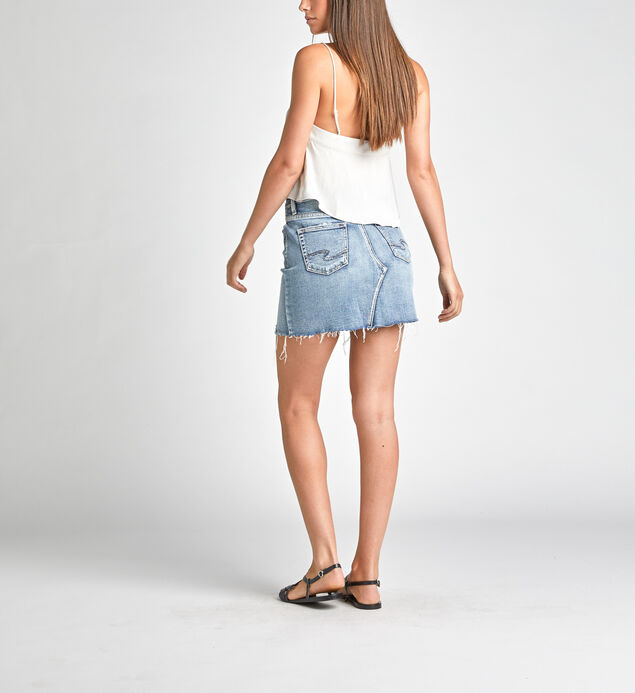 Francy Mid Rise Mini Skirt, , hi-res