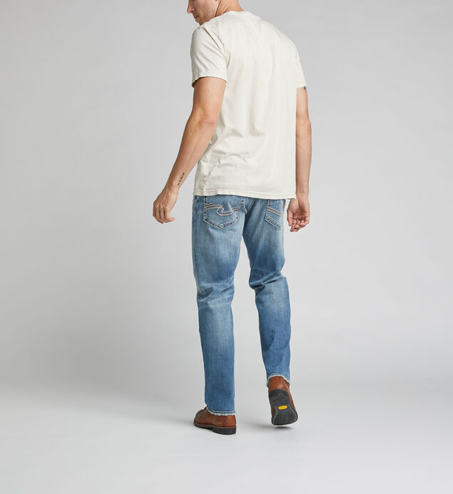 Hunter Athletic Fit Tapered Leg Jeans, , hi-res