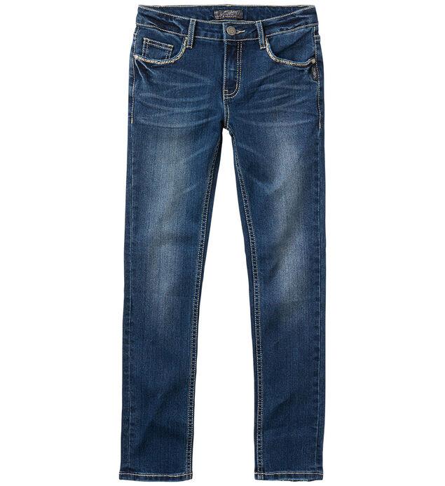 Sasha Skinny Jeans in Dark Wash (7-16)