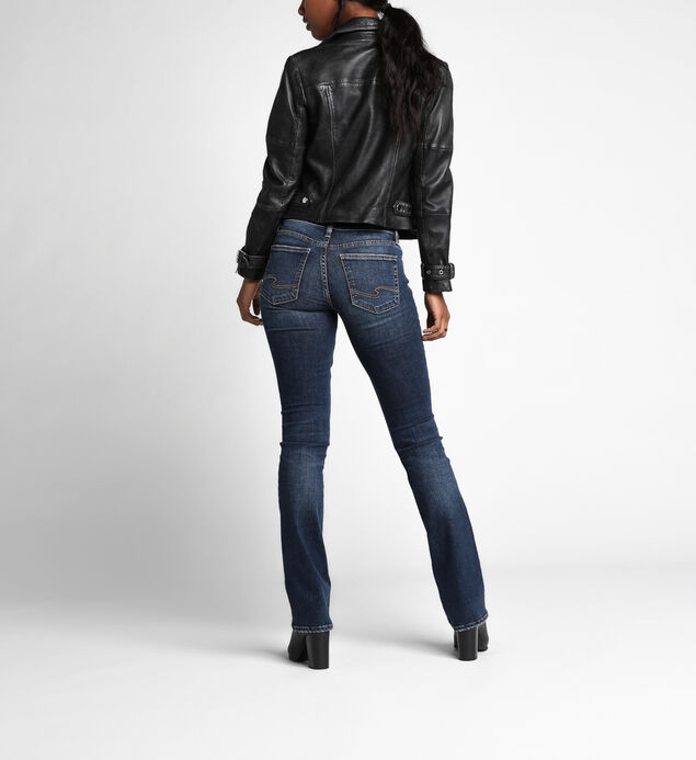 Suki Mid Rise Slim Bootcut Jeans, , hi-res