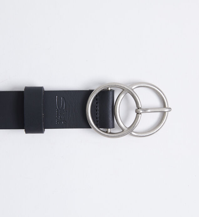 Double O-Ring Womens Belt