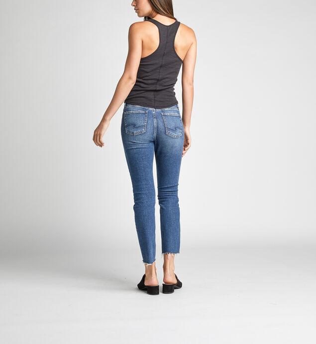 High Note High Rise Slim Leg Jeans, , hi-res
