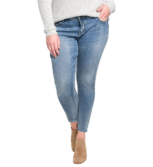 Elyse Ankle Skinny Medium Wash