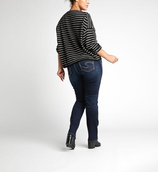 3cde619e Suki Mid Rise Straight Leg Jeans Plus Size, ...