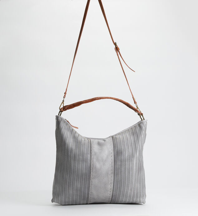 Braided Perforated Hobo