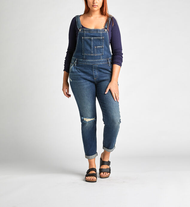 Overalls Slim Leg Jeans