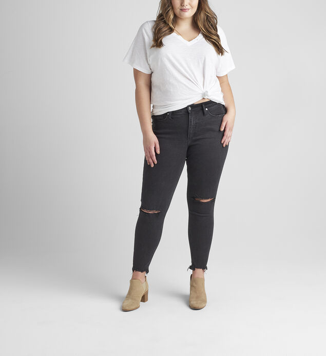 Most Wanted Mid Rise Skinny Jeans Plus Size