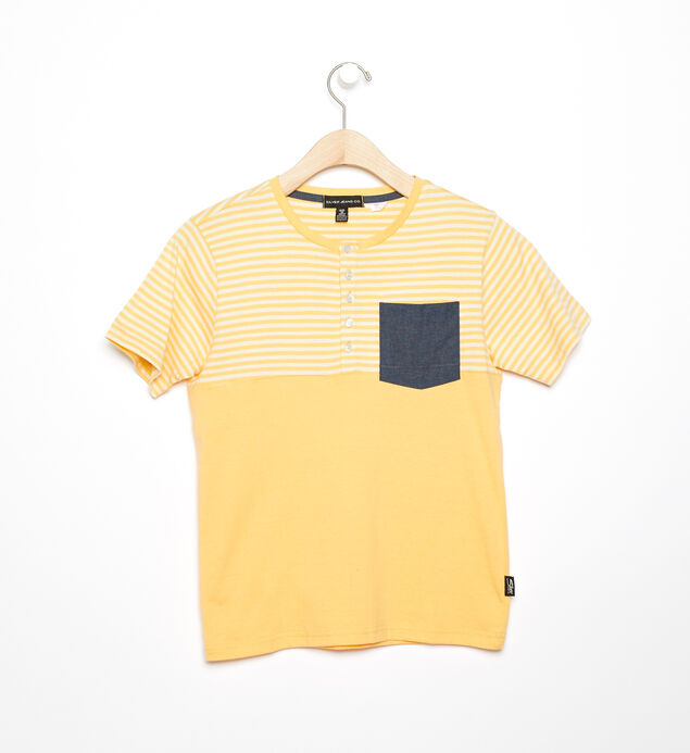 Boys Short-sleeve Knit Top