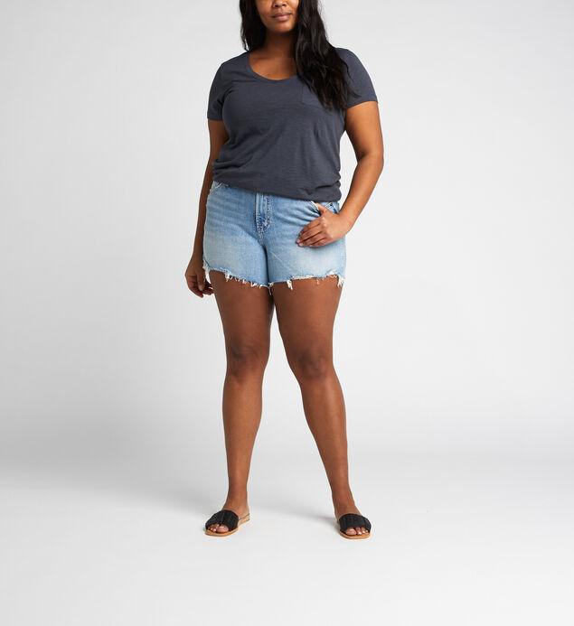 Frisco High Rise Short Plus Size