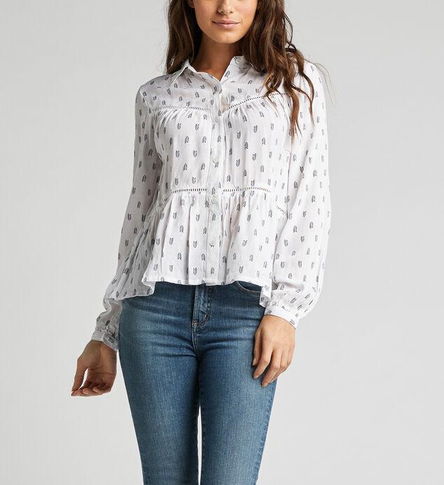Scottie Lace Babydoll Shirt