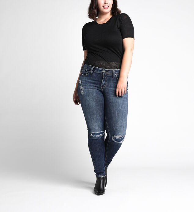 Suki Plus Size Skinny Dark Wash