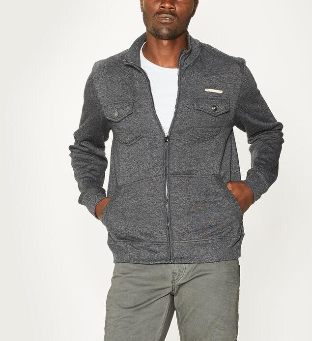 Miles Zip-Front Fleece Jacket Final Sale