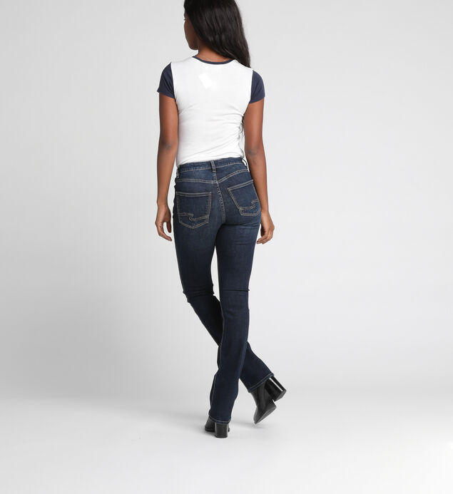 Mazy High-Rise Slim Bootcut Jeans, , hi-res