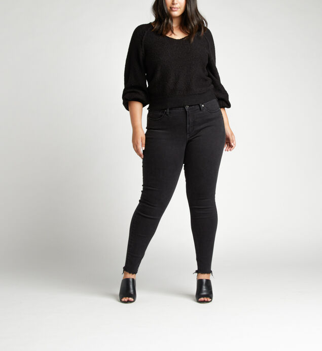 Avery High Rise Skinny Plus Size Jeans