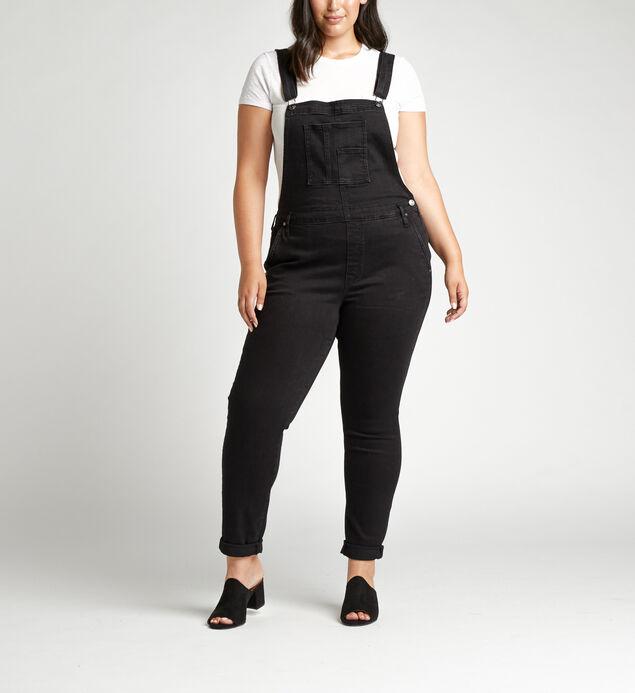 Slim-Leg Plus Size Overalls