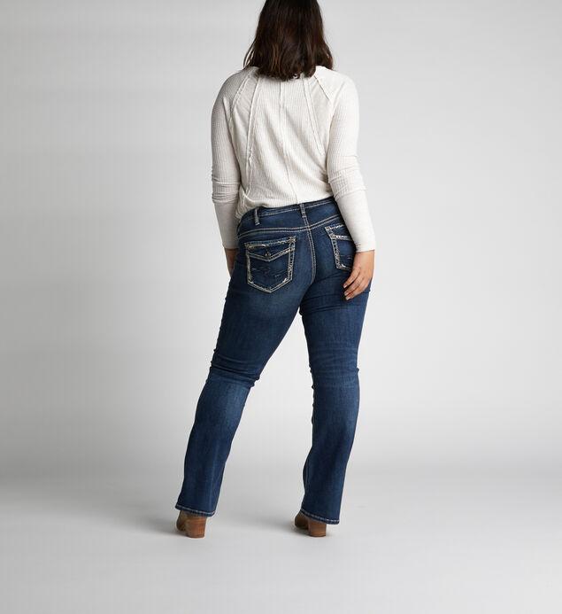 94cf7d19b8f Suki Mid Rise Slim Bootcut Jeans Plus Size