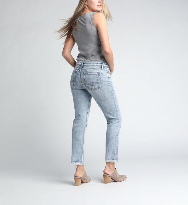 Elyse Mid Rise Slim Leg Jeans, , hi-res