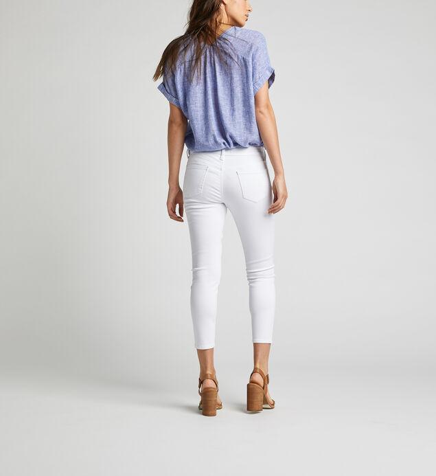 Suki Mid Rise Skinny Crop Pants, , hi-res