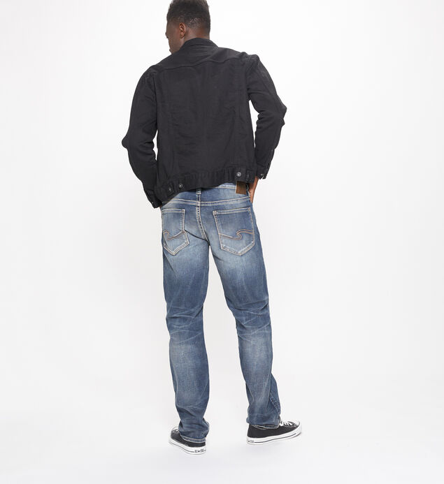 Grayson Straight Mens Dark Wash, , hi-res