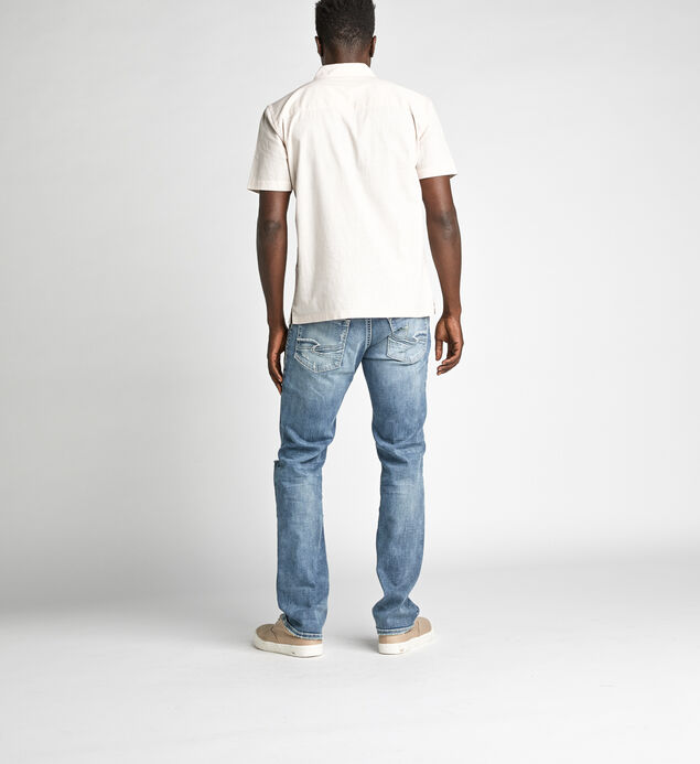 Allan Classic Straight Jeans, , hi-res