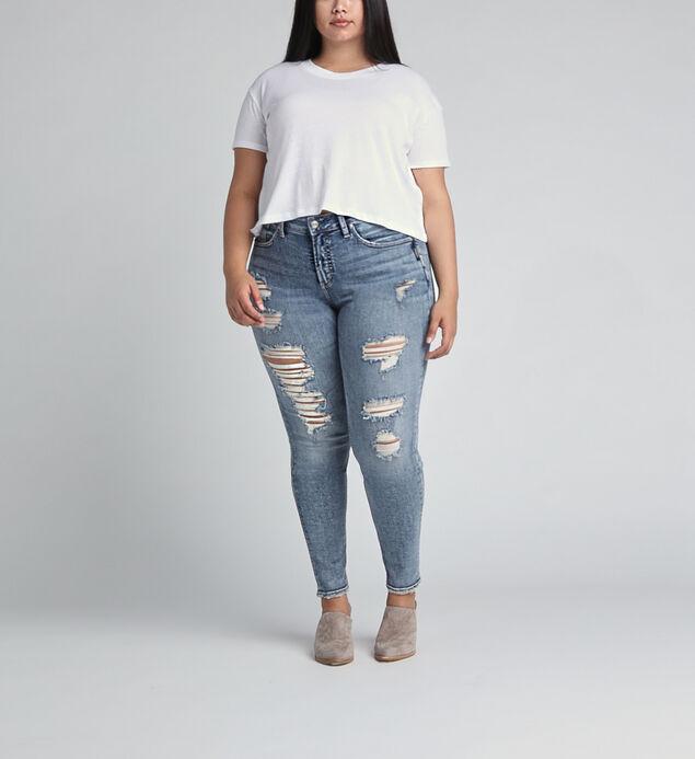 Avery High Rise Skinny Leg Jeans Plus Size