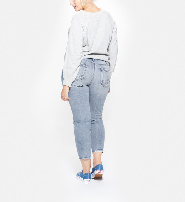 Suki Plus Size Ankle Slim Light Wash, , hi-res