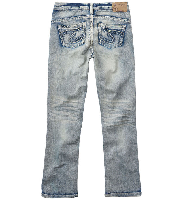 Tammy Bootcut Jeans in Bleached Wash (7-16), , hi-res