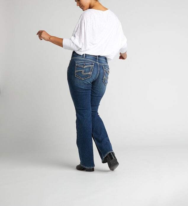 Suki Mid Rise Slim Bootcut Jeans Plus Size, , hi-res