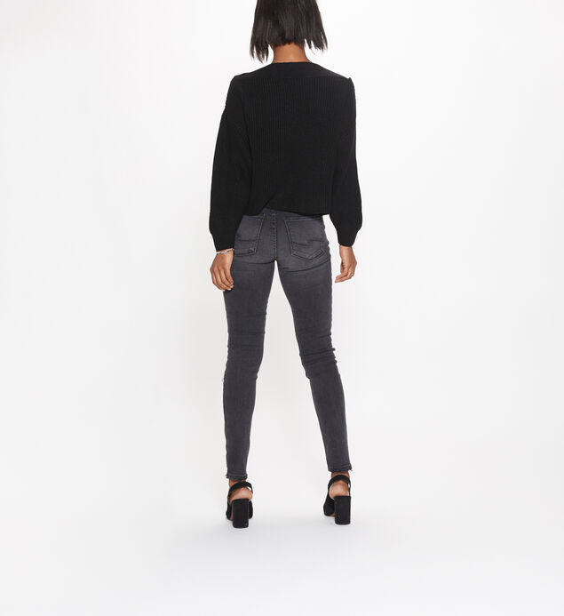 Robson High Rise Black Jegging, , hi-res
