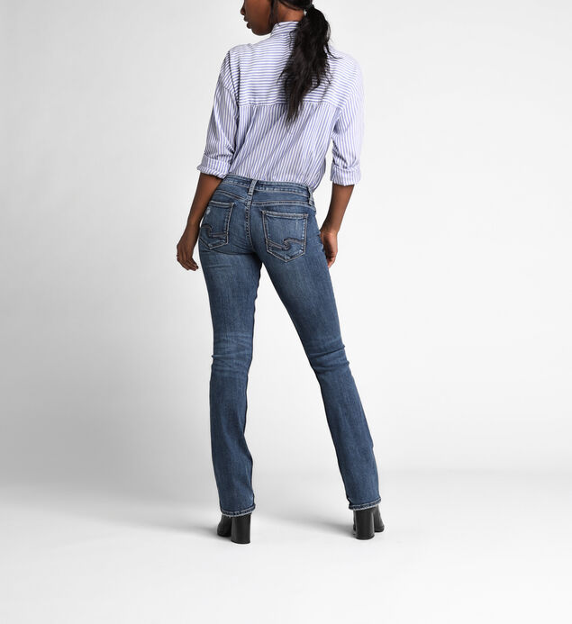 Tuesday Slim Boot Low Dark Wash, , hi-res