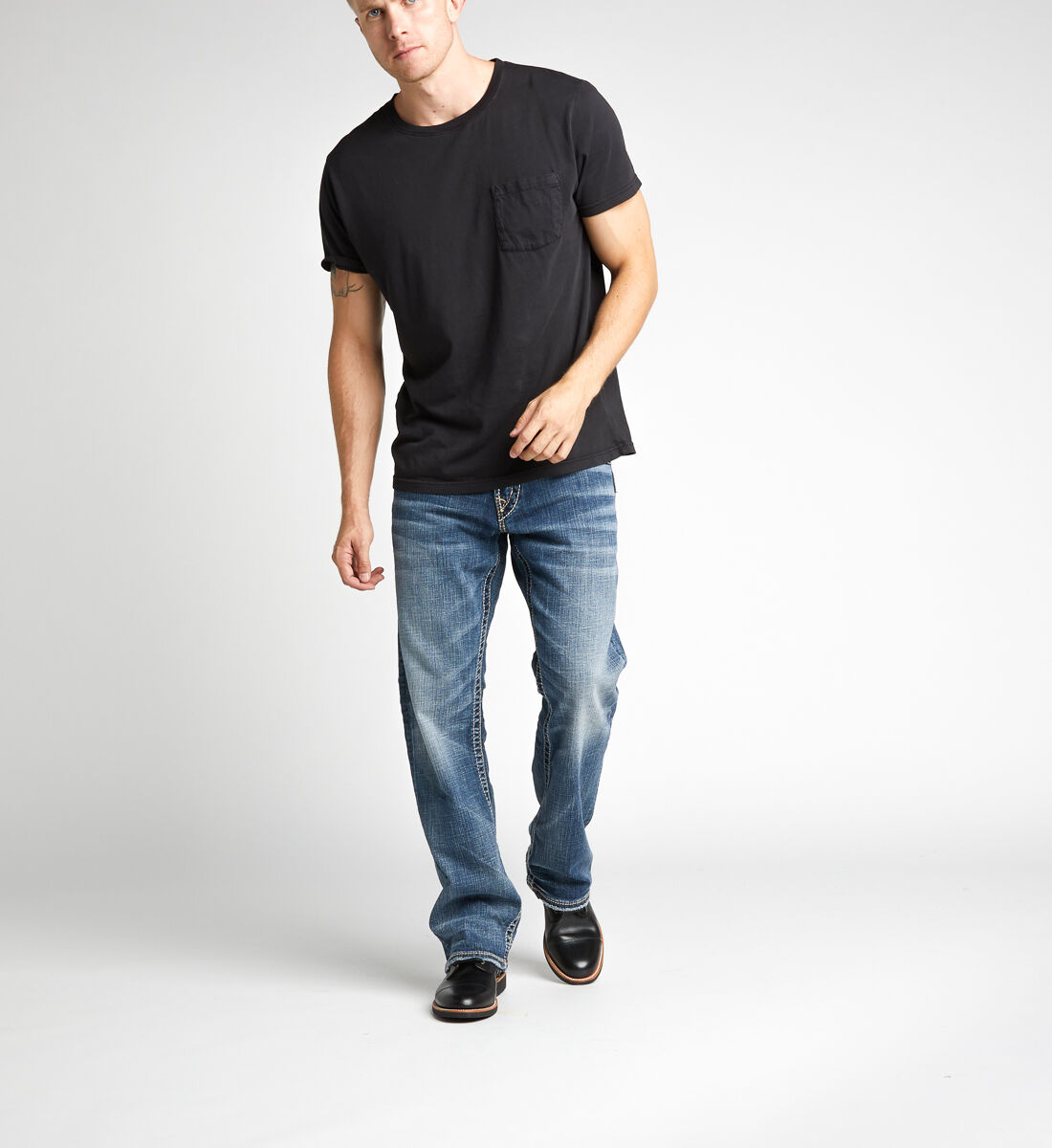 Zac Relaxed Fit Straight Leg Jeans Alt Image 1