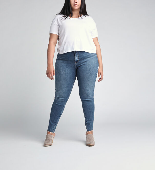 High Note High Rise Skinny Leg Plus Size Jeans