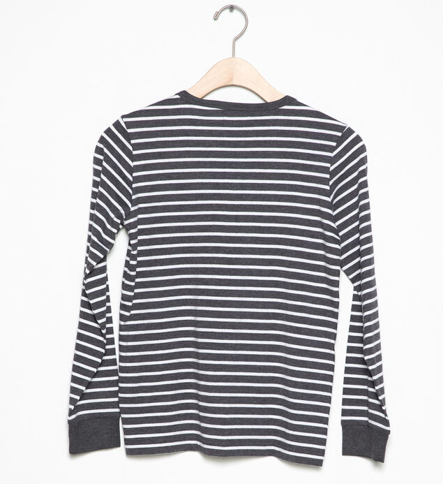 Long-Sleeve Striped Henley (4-7), , hi-res