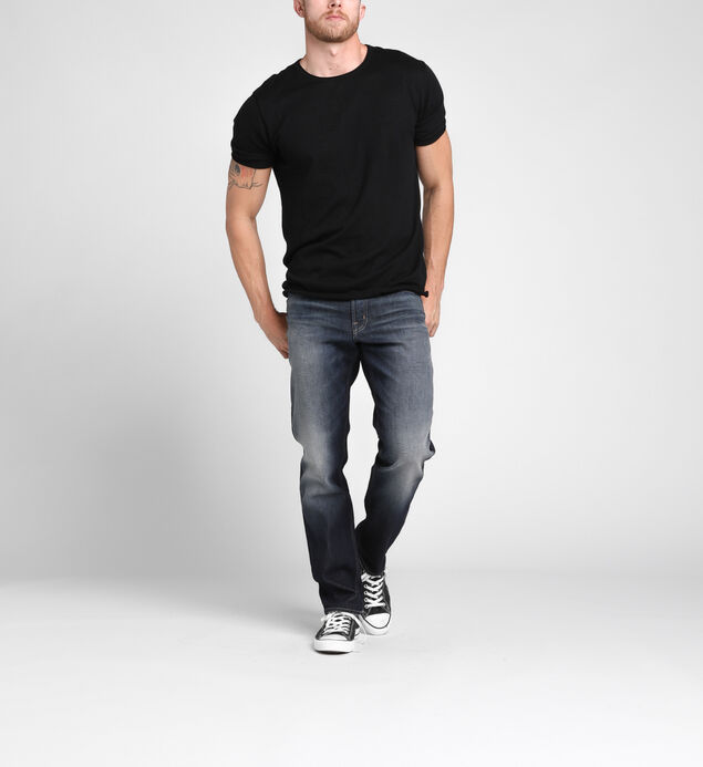 Eddie Tapered Leg Dark Wash